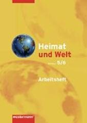 Heimat und Welt 5 /6. Arbeitsheft. Hauptschulen und Realschulen. Hamburg