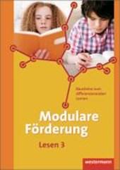 Modulare Förderung 3. Arbeitsheft Lesen.