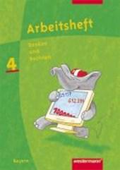Denken und Rechnen 4. Arbeitsheft. Bayern