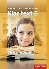 Klartext. Trainer für Klassenarbeiten 6. Arbeitsheft. Nordrhein-Westfalen