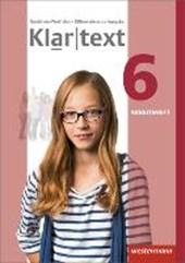 Klartext 6. Arbeitsheft. Differenzierende Ausgabe. Nordrhein-Westfalen