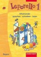 Leporello 1. Fibel. Schülerband. Bayern