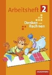 Denken und Rechnen 2. Arbeitsheft. Grundschulen in den östlichen Bundesländern