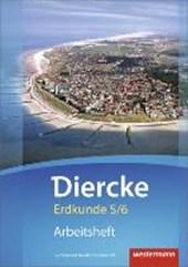 Diercke Erdkunde 5 / 6. Arbeitsheft. Gymnasien G9. Niedersachsen