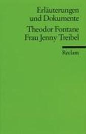 Frau Jenny Treibel. Erläuterungen und Dokumente