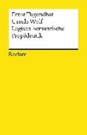 Logisch - semantische Propädeutik