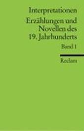 Interpretationen: Erzählungen und Novellen I des 19. Jahrhunderts