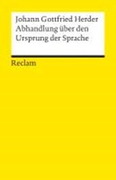 Abhandlungen über den Ursprung der Sprache