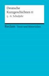 Deutsche Kurzgeschichten 2. 5. - 6. Schuljahr