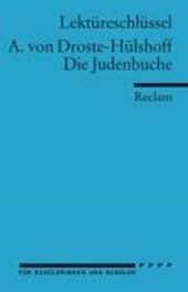 Die Judenbuche. Lektüreschlüssel für Schüler