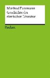 Geschichte der römischen Literatur