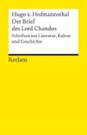 Der Brief des Lord Chandos