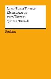 Lazarillo de Tormes / Klein Lazarus vom Tormes