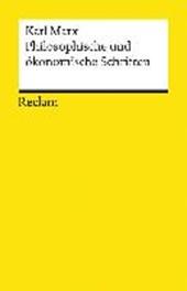 Philosophische und ökonomische Schriften
