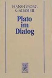 Griechische Philosophie 3. Plato im Dialog. Studienausgabe