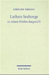 Luthers Seelsorge | Gerhard Ebeling |