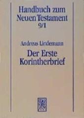 Handbuch zum neuen Testament 9/1. Der Erste Korintherbrief