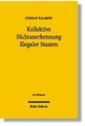 Kollektive Nichtanerkennung illegaler Staaten