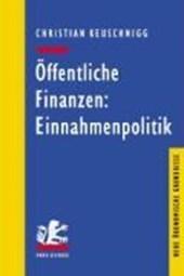 Öffentliche Finanzen: Einnahmenpolitik