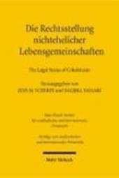 Die Rechtsstellung nichtehelicher Lebensgemeinschaften - The Legal Status of Cohabitants
