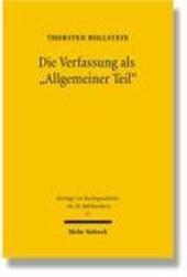 """Die Verfassung als """"Allgemeiner Teil"""""""