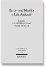 Heresy and Identity in Late Antiquity | auteur onbekend |
