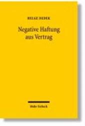 Negative Haftung aus Vertrag