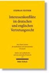 Interessenkonflikte im deutschen und englischen Vertretungsrecht