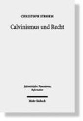 Calvinismus und Recht