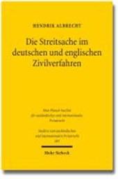 Die Streitsache im deutschen und englischen Zivilverfahren