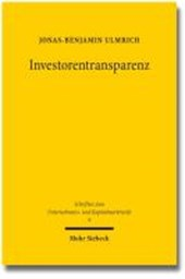 Investorentransparenz