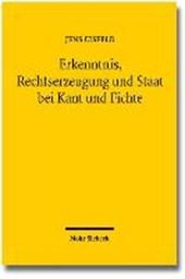 Erkenntnis, Rechtserzeugung und Staat bei Kant und Fichte