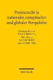 Prozessrecht in nationaler, europäischer und globaler Perspektive