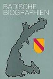 Badische Biographien - Neue Folge I