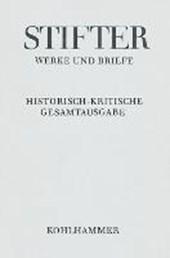 Werke und Briefe I/9. Studien, Kommentar
