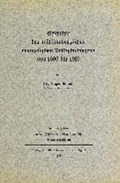 Geschichte des württembergischen evangelischen Volksschulwesens von 1806 bis
