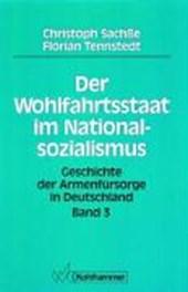 Der Wohlfahrtsstaat im Nationalsozialismus