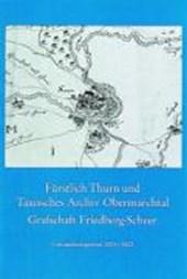 Fürstlich Thurn und Taxissches Archiv Obermarchtal, Grafschaft Friedberg-Scheer