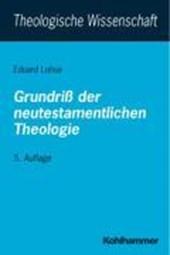 Grundriß der neutestamentlichen Theologie