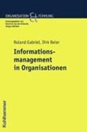 Informationsmanagement in Organisationen