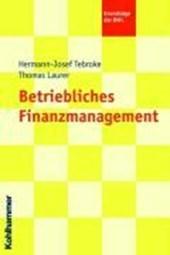 Betriebliches Finanzmanagement