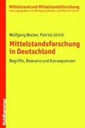 Mittelstandsforschung in Deutschland
