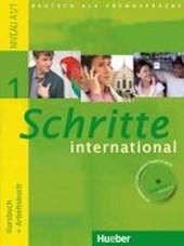 Schritte international 1. Kursbuch + Arbeitsbuch mit Audio-CD zum Arbeitsbuch und interaktiven Übungen