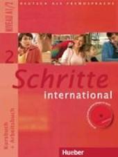 Schritte international 2. Kursbuch + Arbeitsbuch mit Audio-CD zum Arbeitsbuch und interaktiven Übungen
