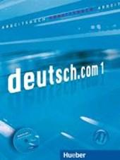 deutsch.com 01. Arbeitsbuch mit Audio-CD