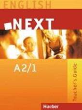 Next A2/1. Teacher's Guide