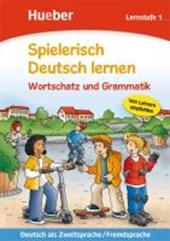 Spielerisch Deutsch lernen. Wortschatz und Grammatik. Lernstufe