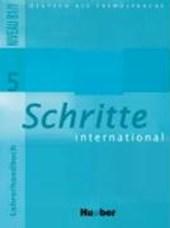 Schritte international 5. Lehrerhandbuch