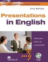 Presentation English. Student's Book mit DVD