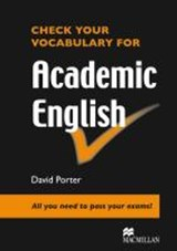 Check your Vocabulary for Academic English | auteur onbekend |